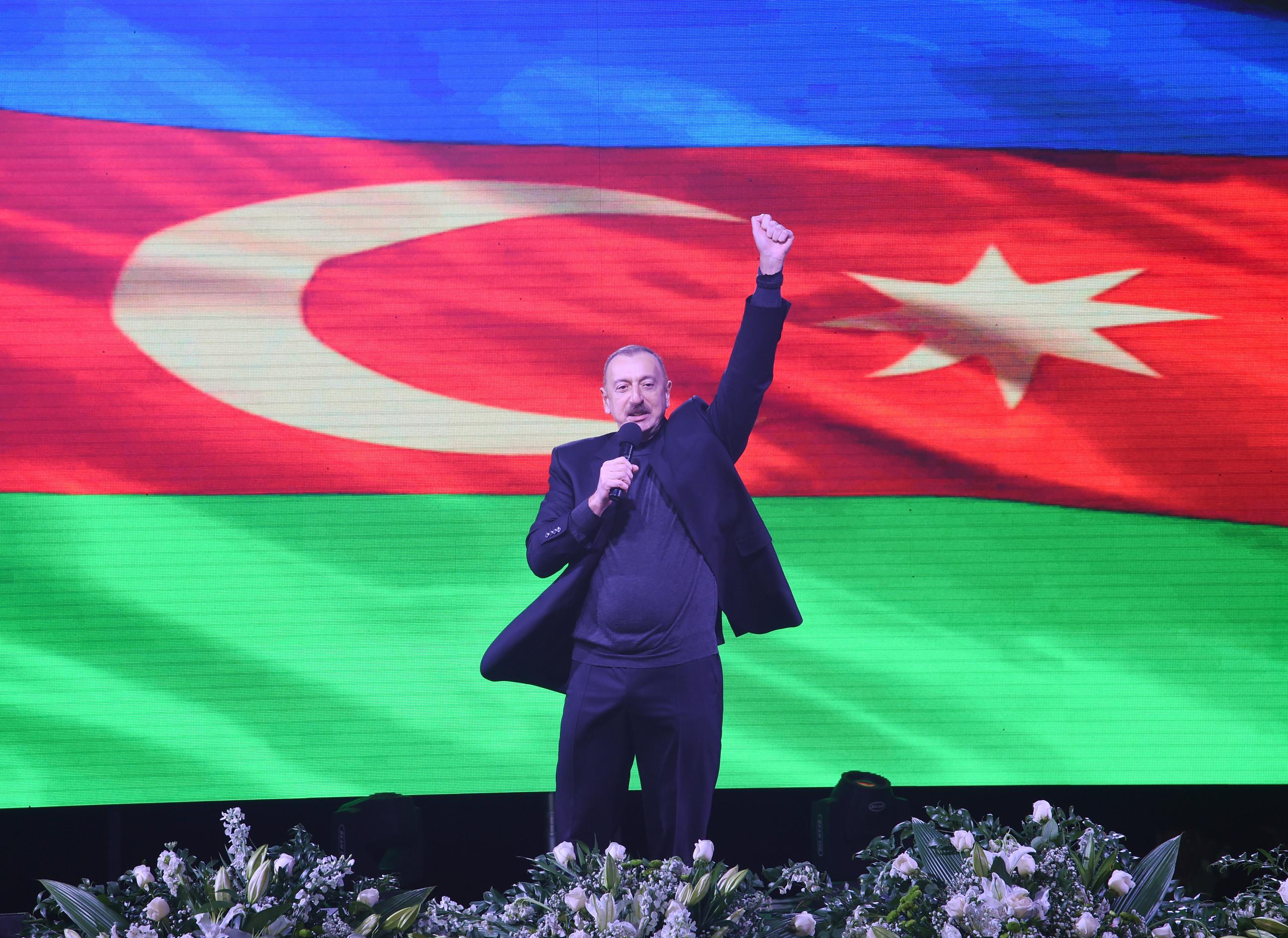 رئيس جمهورية أذربيجان