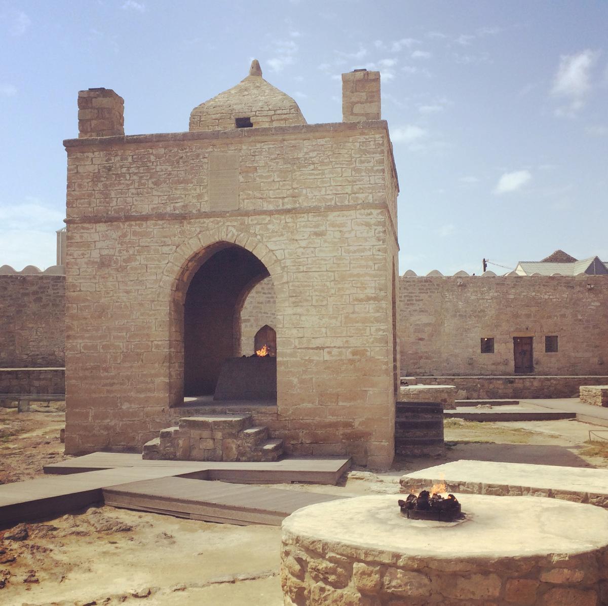 جوله معبد النار، جبل النار و متحف غالا
