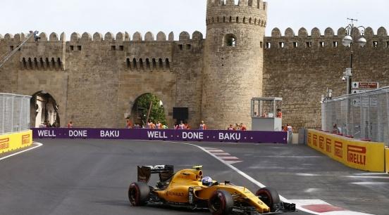 2018 European Grand Prix Baku